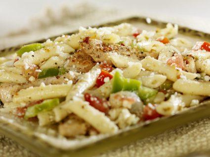 Ingredientes da semana: massa e frango