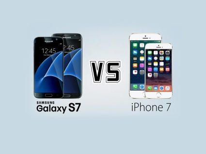 iPhone 7 ou Galaxy S7: Qual o melhor?