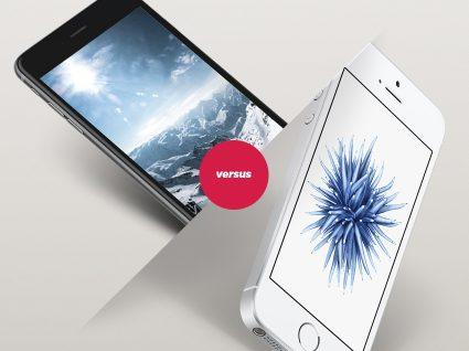 iPhone SE ou 6S?