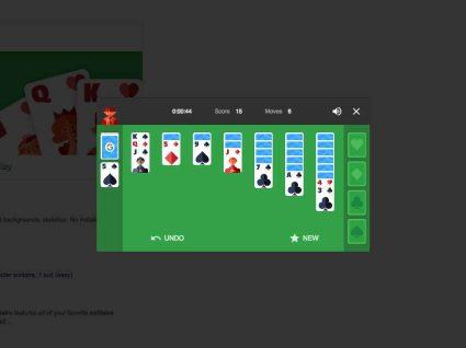 Como jogar Solitário no Google