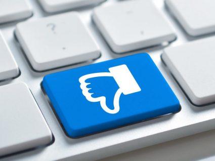 Facebook testa botão de desagrado