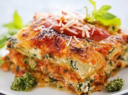 Receita do dia: lasanha de legumes com cogumelos