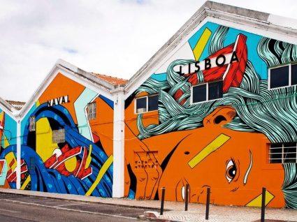 Um roteiro de Street Art em Lisboa que vai adorar conhecer