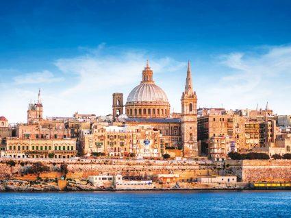 Conhecer Malta, no azul do Mediterrâneo