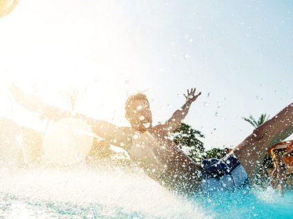 É português e é um dos melhores hotéis com parque aquático do mundo