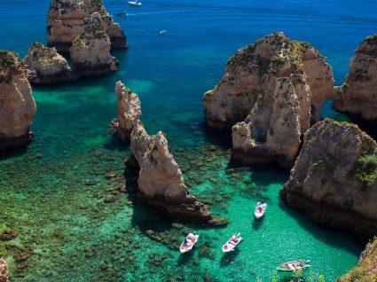 As 19 melhores praias do Algarve