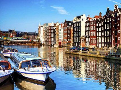 Os melhores restaurantes e hotéis em Amesterdão
