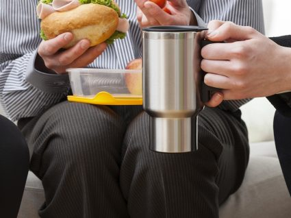 Sugestões de menu para refeição no trabalho