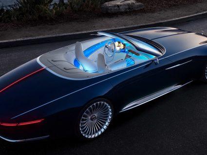 Novo Maybach cabrio é o descapotável mais luxuoso do mundo