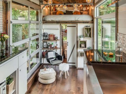 Mini casas de luxo: pequenas em espaço, gigantes em comodidade