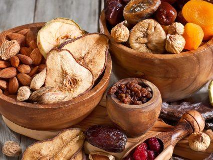 Frutas desidratadas: uma opção saudável?