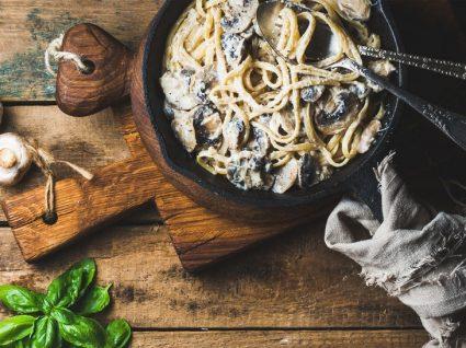 4 receitas com natas e cogumelos infalíveis