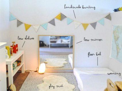 Móveis para quarto montessoriano: o que comprar?