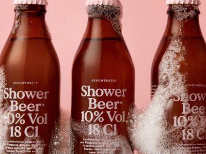 A primeira cerveja para beber no duche já esgotou