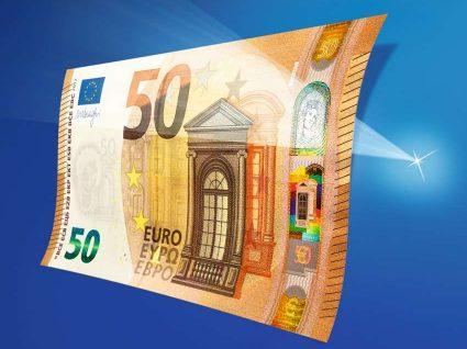 A nova nota de 50€ é mais gira e mais segura