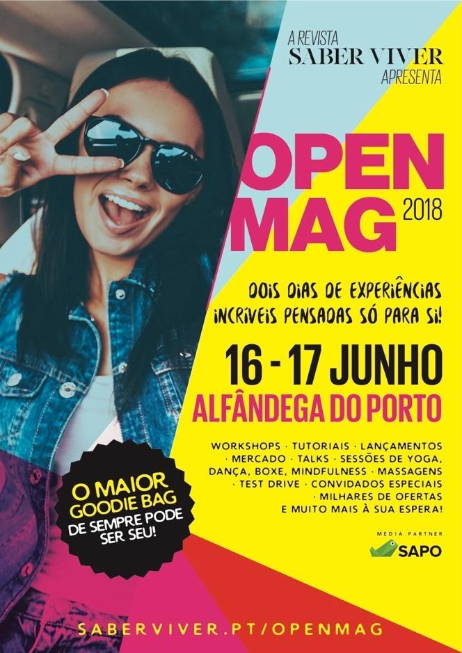 evento open mag porto