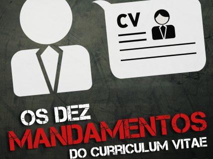 Os 10 mandamentos do curriculum vitae