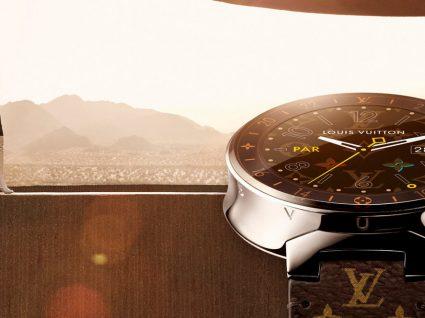 Smartwatch da Louis Vuitton: um gadget de luxo