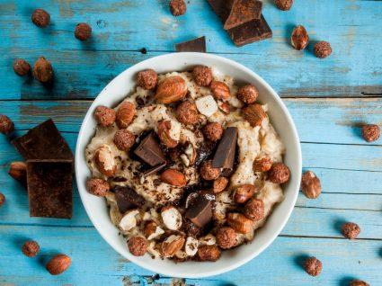 5 papas de aveia no microondas para manhãs com pressa