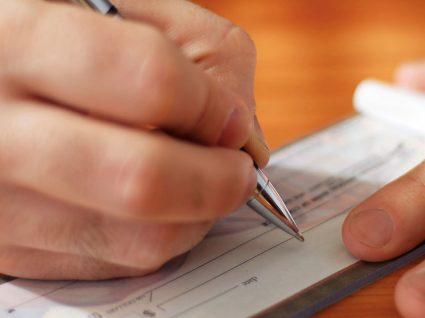 Passar um cheque: boas práticas
