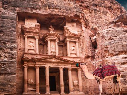 O tesouro de Petra na Jordânia