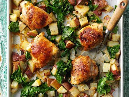 As melhores receitas de frango no forno