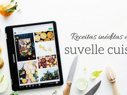 Receitas do Blog Suvelle Cuisine: 3 snacks saudáveis exclusivos para si