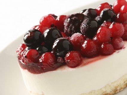 Cheesecake de frutos vermelhos: deliciosamente fresco