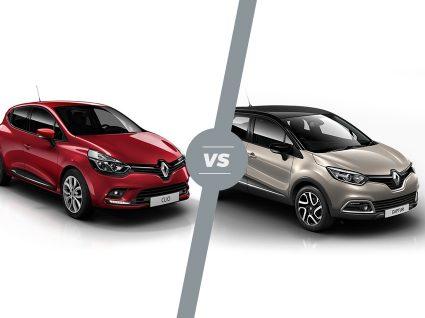 Renault Clio vs. Captur: qual o melhor?