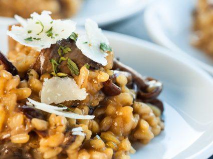3 receitas de risotos: de carne, peixe ou vegan