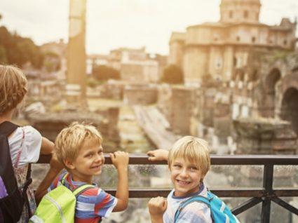 Roteiro de Roma para famílias