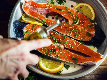 Ingredientes da semana: salmão e laranja