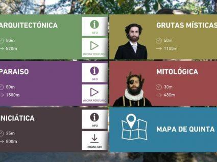 Quinta da Regaleira lança app pioneira