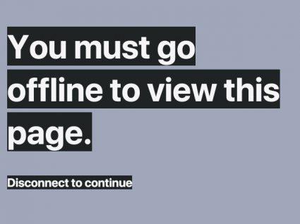 Quer ler esta mensagem? Fique offline
