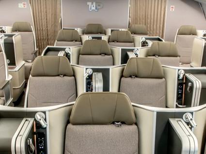 A330 da TAP já voa com cabines renovadas