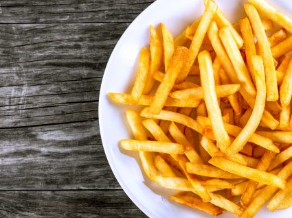 Batatas fritas saudáveis? Sim, é possível
