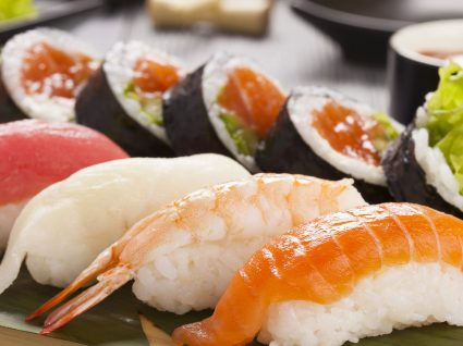 Estudo: sushi pode ter parasitas