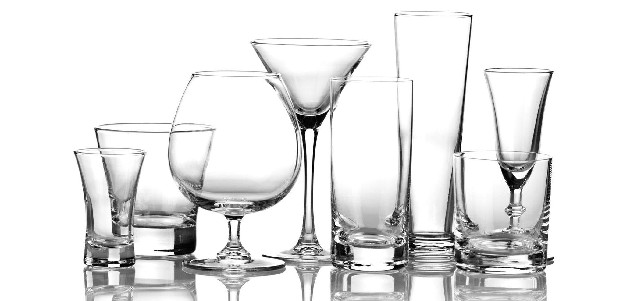 Conheça os diferentes tipos de copos e seus usos