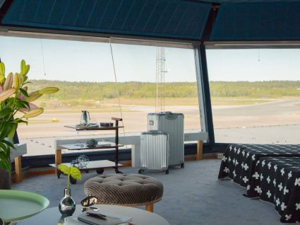 Quer passar uma noite na torre de controlo de um aeroporto?