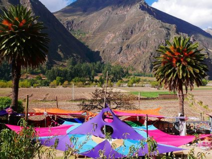 Uma entrada peculiar no Peru