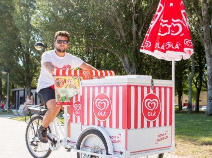 Começou a vender gelados e agora é gestor da Academia Olá