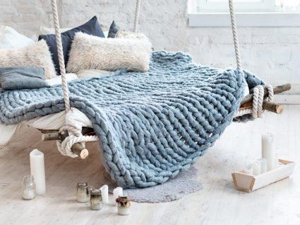 Saiba como fazer uma manta em 4 horas