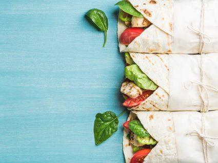 Wraps ou pão: qual será o mais saudável?