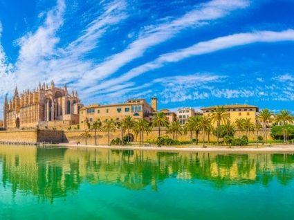 Palma de Maiorca: o paraíso aqui tão perto