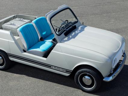 O renascer de uma lenda. Conheça o protótipo elétrico da Renault 4L e-Plein Air