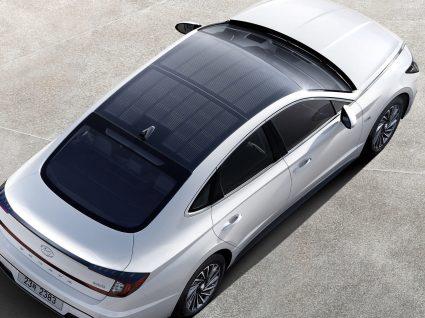 Hyundai lança primeiro automóvel com sistema de carregamento solar