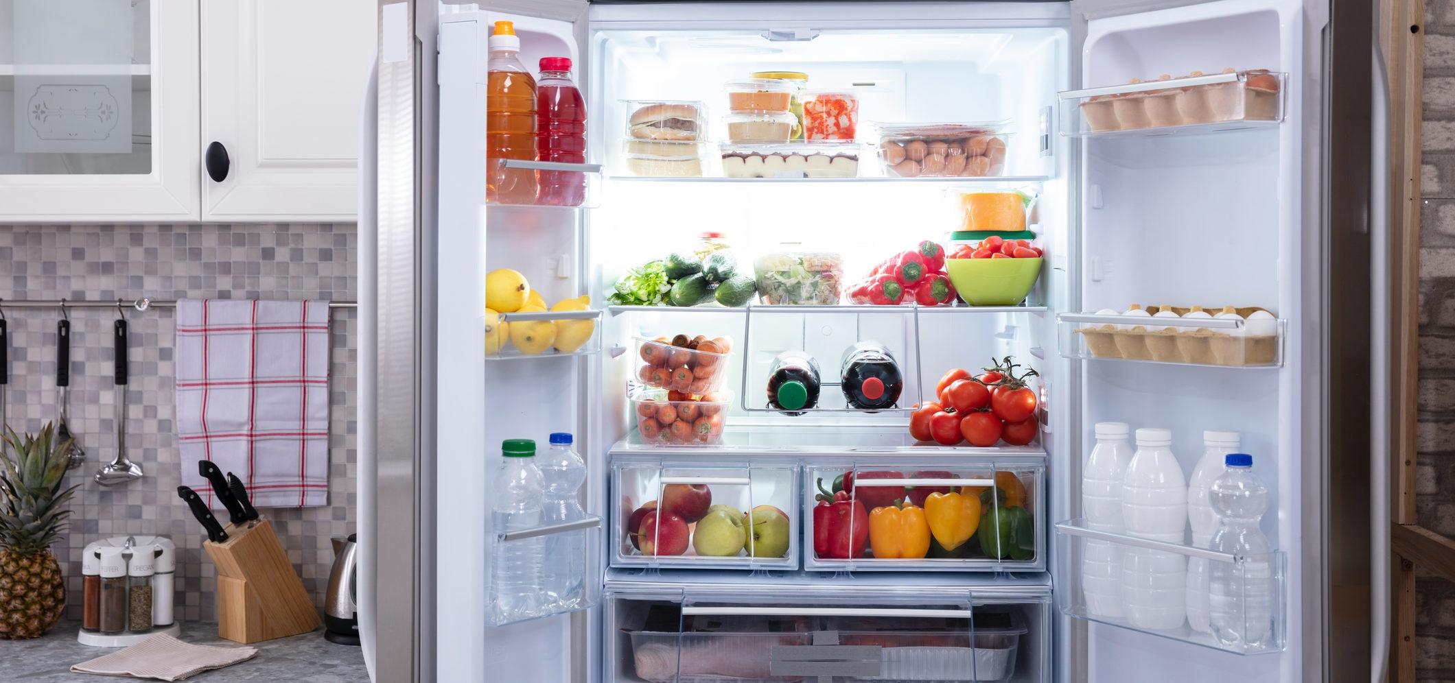 17 alimentos que não deve guardar no frigorífico