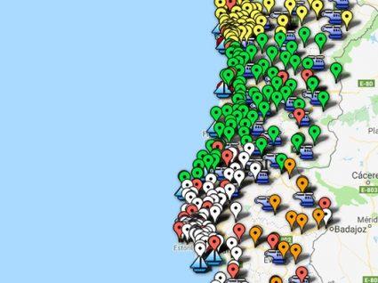 Mapa oficial da Entidade Nacional para o Setor Energético já está online