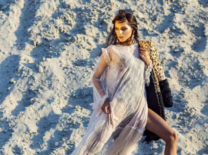 Tendência: saiba como usar vestidos transparentes com elegância