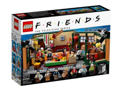 É fã da série Friends? Então não pode perder estes legos